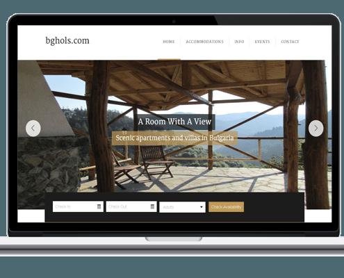 Web Design for Bulgaria Holidays
