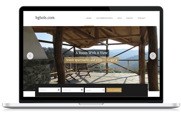 Web Design for Bulgaria Holidays