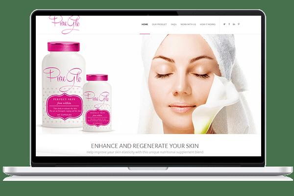 MyPureGlo Web Design