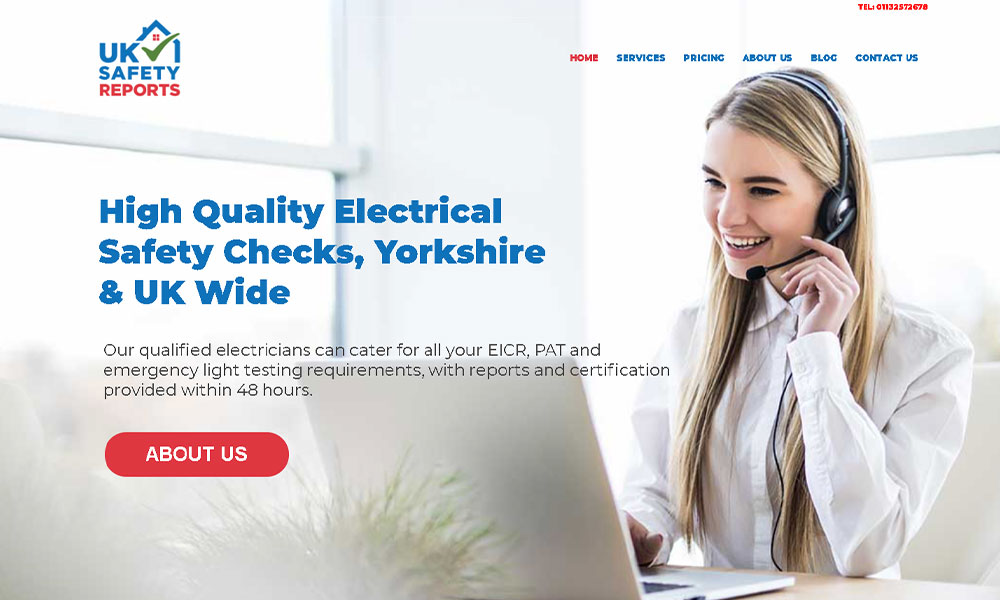 web-design-project-uk-safety-reports